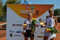 V Dobříši proběhlo tenisové MČR starších žákyň.