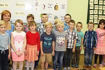 První třída Základní školy a Mateřské školy Kamýk nad Vltavou pod vedením učitelky Lenky Klausové.