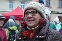 Předvánoční čas v sobotu 2. prosince ozdobily v Sedlčanech na náměstí dva nové české rekordy, křest knížky, rozsvícení stromku a adventní průvod.
