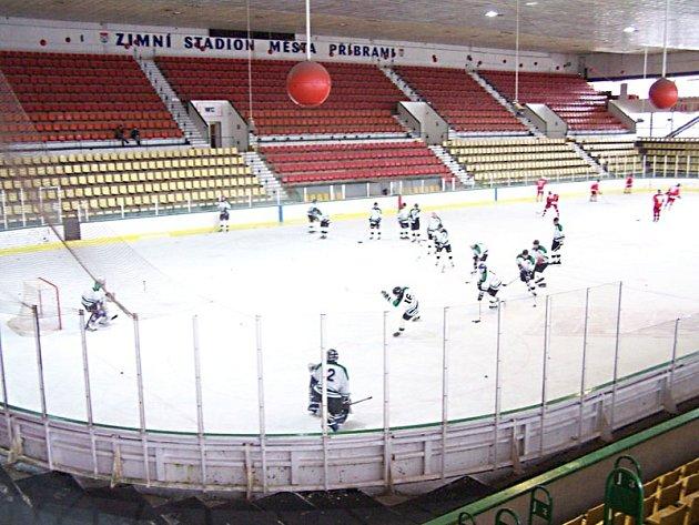 Zimní stadion v Příbrami. Ilustrační foto.
