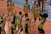 4. zápas semifinále: Příbram - Č. Budějovice (3:1).