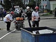 Hasičská soutěž v Rožmitále.