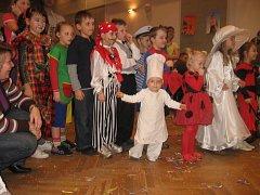 Dětský karneval v Rožmitále pod Třemšínem