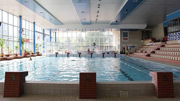 Plavecký bazén v Příbrami.