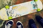 Skateboard. Ilustrační foto.