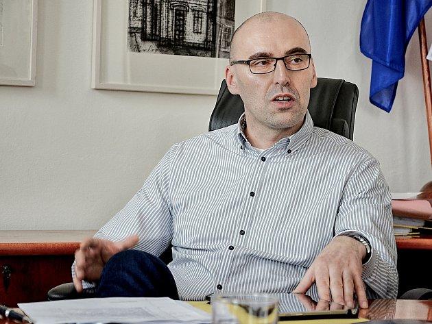 Příbramský místostarosta Václav Švenda (TOP 09).