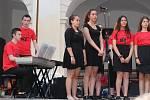 Koncertu žáků All Hallows Catholic School na zámku v Březnici