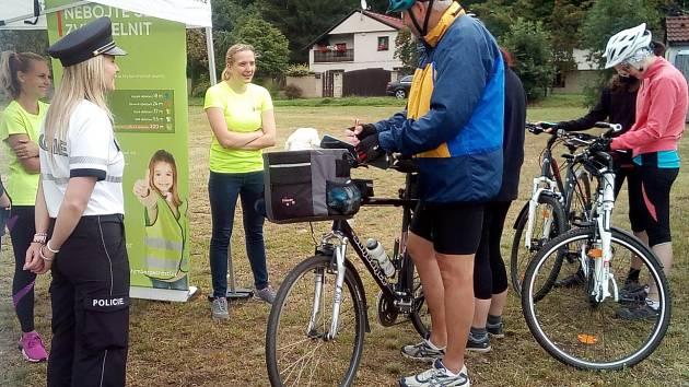 Jezděte bezpečně na kole v silničním provozu bylo heslo policejní akce v Jarově.