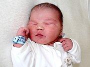 ONDRÁŠEK DUŠEK přišel na svět v pondělí 30. ledna o váze 4,10 kg. Radost z miminka mají rodiče Zuzana a Jiří z Nové Vsi pod Pleší a sourozenci Honzík s Míšou.