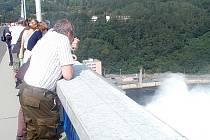Orlická přehrada - ilustrační snímek