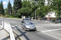 Křižovatka Prokopské s ulicí Československé armády