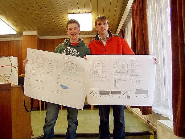 Mladí architekti zabodovali v grafické soutěži.