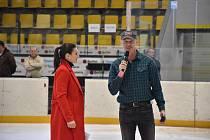 Slavnostního zakončení hokejové sezony v Příbrami se zúčastnil i Dominik Hašek.
