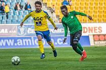 Zápas 30 kola FORTUNA:LIGY FK Teplice - 1. FK Příbram 0:0.