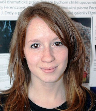 Zuzana Kubátová, studentka.