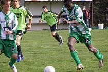 V utkání Višňová - Sedlčany B si všechny body zajistili bleskovým úvodem domácí fotbalisté.