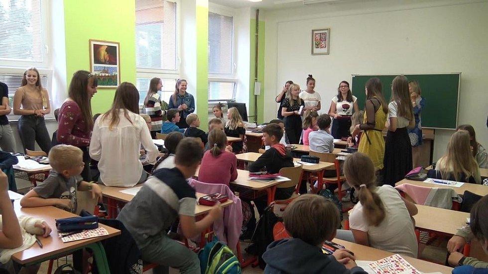 Zahájení školního roku na Gymnáziu Příbram.