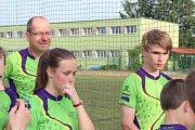 Jednoduchý orienťák v prostoru sportovního hřiště a areálu ZŠ v Dobříši si přišlo vyzkoušet přes 200 dětí a dospělých.