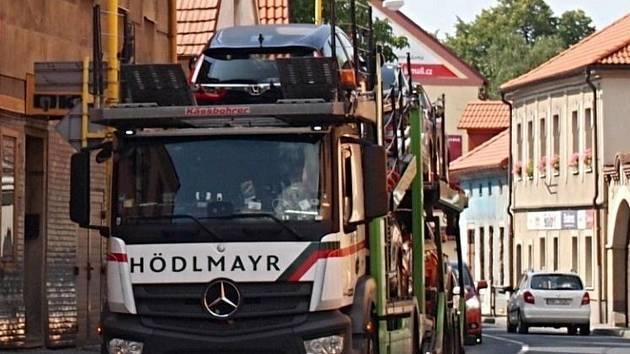 Jihovýchodní obchvat Příbrami má ulevit především dopravně přetížené městské části Březové Hory.