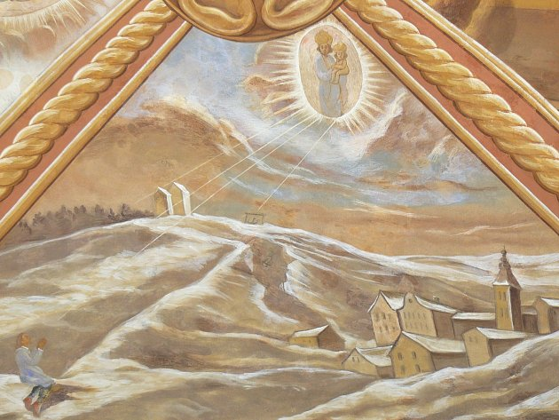 Sto svatohorských milostí: obraz číslo 4.