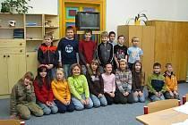 Žáci 1.B ze Základní školy Jiráskovy sady v Příbrami