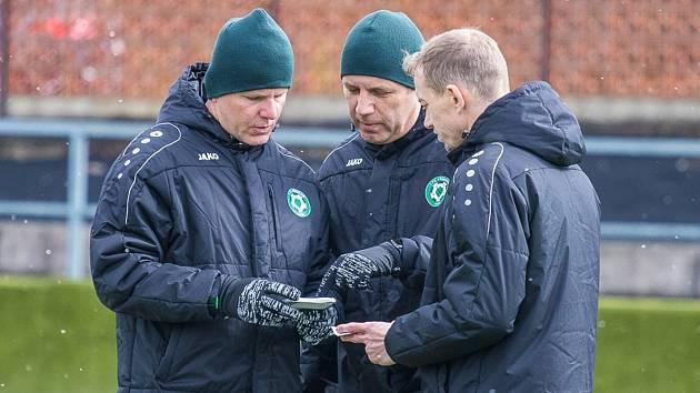Fotbalisté Příbrami absolvovali první trénink pod vedením nového trenéra Jozefa Valachoviče.
