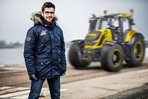 Do boje během Rallye Šumava Klatovy půjde Martin Macík netradičně za volantem traktoru.