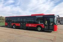 Nové autobusy příbramské městské hromadné dopravy.