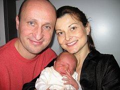V neděli 11. ledna maminka Hana a tatínek Martin ze Žežic poprvé sevřeli v náručí synka Ondřeje Kozáka, vážil 3,72 kg a měřil 53 cm. Chůvičku bude bráškovi dělat tříapůlletá Laurinka.