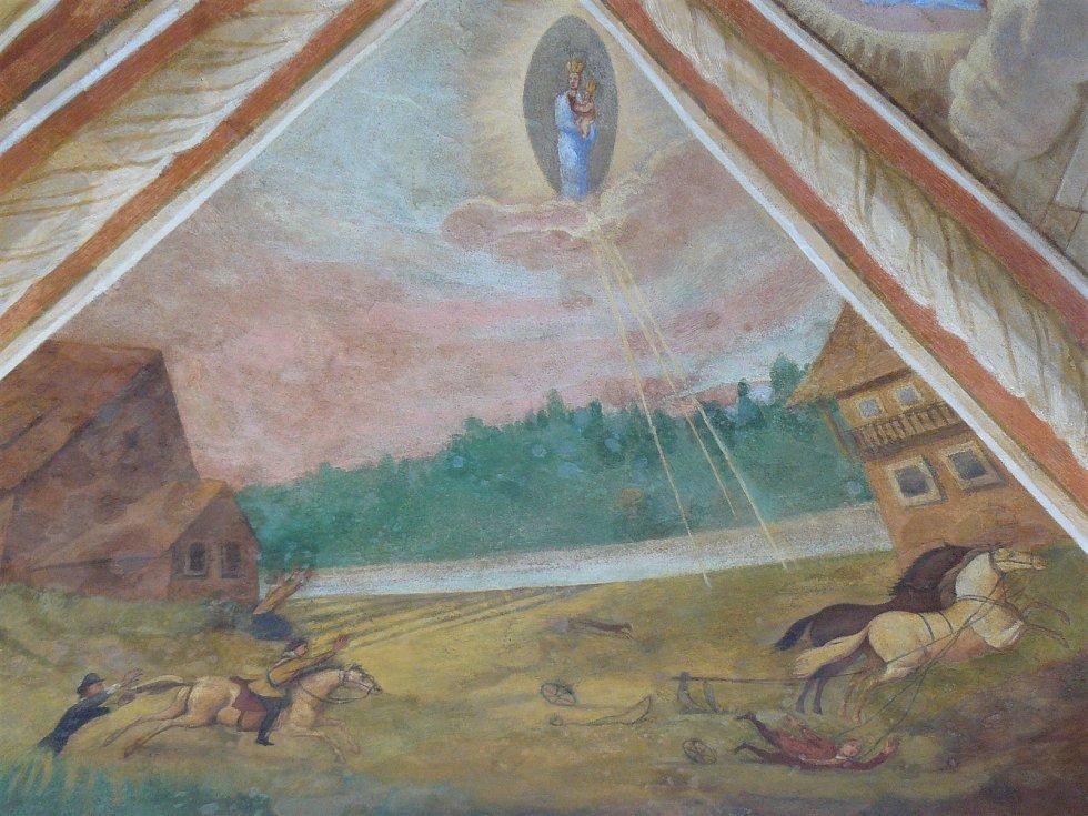 Sto svatohorských milostí: obraz číslo 22.