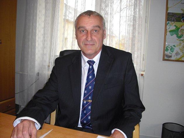 Ředitel Technických služeb Příbram Pavel Mácha.