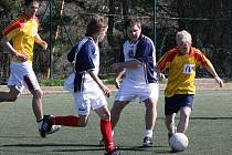 2. liga: Rychlý válec - Jehněčí podkovy (1:1).