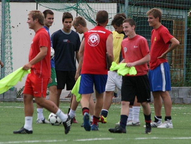 Spartak Příbram zahájil v pondělí 18. července přípravu na novou sezonu.