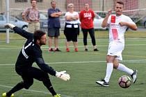 Příbram v posledním podzimním zápase Superligy udolala Pardubice.
