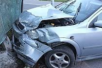 Nedělní nehoda v Rožmitále.