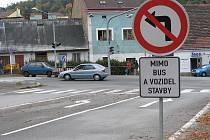 V Příbrami vládne dopravní kolaps kvůli výměně plynovodu v ulici Kpt. Olesinského