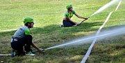 Zajímavou soutěž uspořádal v sobotu 11. srpna Sbor dobrovolných hasičů Suchodol.