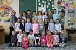 Prvňáčci ze třídy 1.A ze Základní školy 28. října v Příbrami ve školním roce 2019/2020.