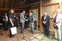 Z předávaní ocenění Mistr rukodělné výroby Středočeského kraje na Dni řemesel ve Skanzenu Vysoký Chlumec.