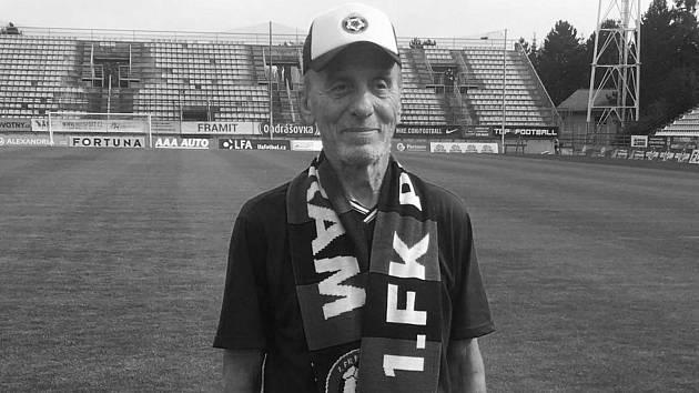 Velký patriot příbramského fotbalu Václav Valta.