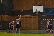 Čtvrtfinále Středočeské basketbalové ligy BK Příbram 2000 - BC Mělník