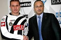 Tomáš Zápotočný je v italském Udine nadmíru spokojený.