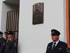 Odhalení pamětní desky prezidenta Tomáše Garrigua Masarykau příležitosti 100. výročí založení ČSR se odehrálo v pondělí 3. září v 17 hodin na budově Městského muzea Sedlčany.