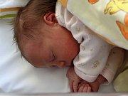 Rozárie Brožová se narodila s váhou 3,49 kg a mírou 49 cm Míše a Davidovi z Týčka.