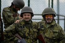 Z vojenského cvičení aktivní zálohy 13. dělostřeleckého pluku.