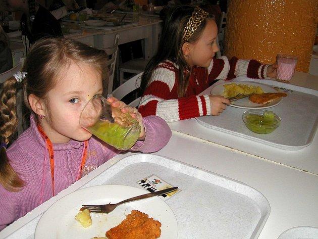 Zrekonstruovaná jídelna při Základní škole 28. října