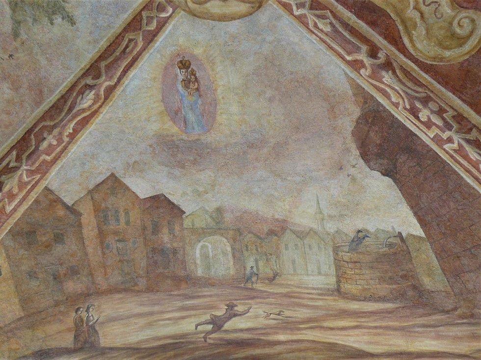 Sto svatohorských milostí: obraz číslo 67.