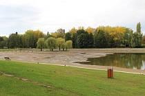 Koupaliště Nový rybník v Příbrami.