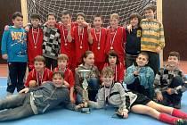 OFS Příbram U11 po turnaji O pohár předsedy SKFS.