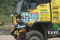 Předváděcí akce KM Racing pro pozvané novináře.